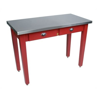 John boos cucina americana prep table with stainless steel - Cucina americana milano ...