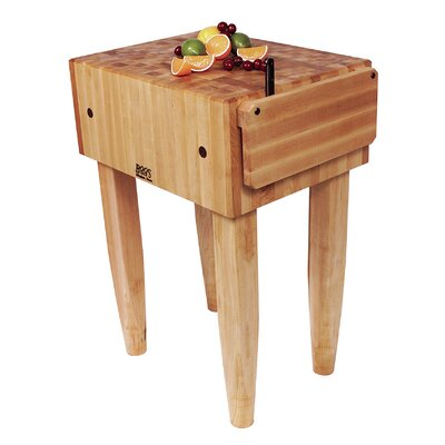 John Boos Pro Chef Butcher Block Prep Table