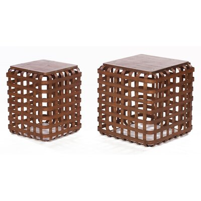 Melrose International 2 Piece End Tables