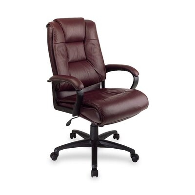 OSP Furniture High Back Leather Executive Chair