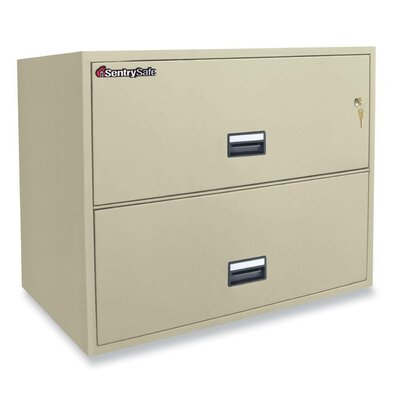 Sentry Safe 2-Drawer Lateral Filing Cabinet