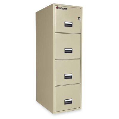 Sentry Safe 4-Drawer Vertical Filing Cabinet