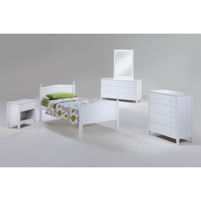 Night & Day Furniture Zest Panel Customizable Bedroom Set