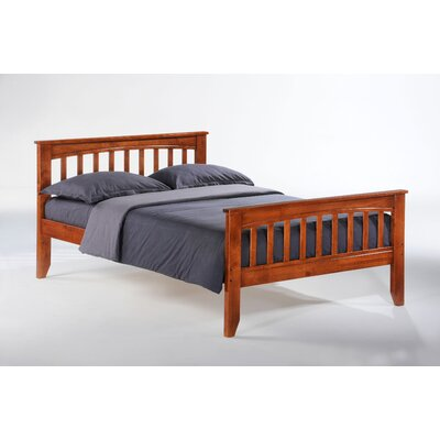 Night & Day Furniture Zest Sarsaparilla Slat Bed