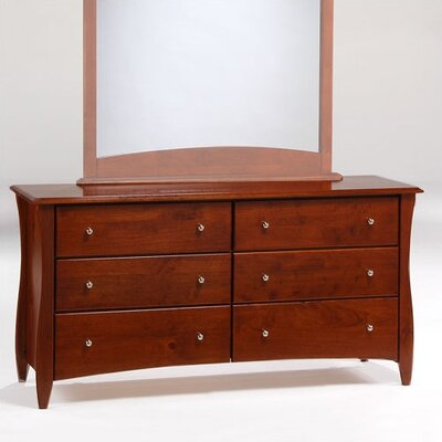 Night & Day Furniture Spices Bedroom 6 Drawer Dresser