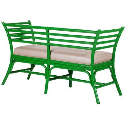 David Francis Furniture Sydney Rattan Bench