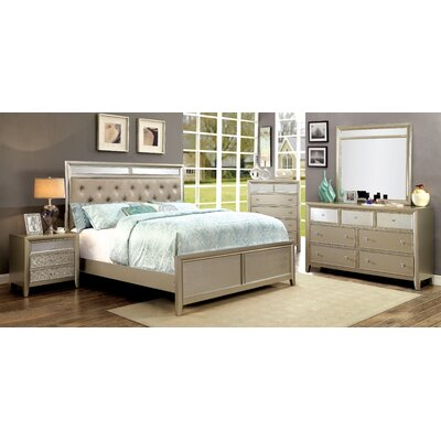 House of Hampton Antigore Upholstered Platform Bed