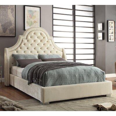 Meridian Furniture USA Upholstered Platform ..