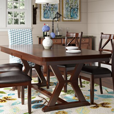 Red Barrel Studio Beaver Creek Extendable Dining Table U0026 Reviews   Wayfair