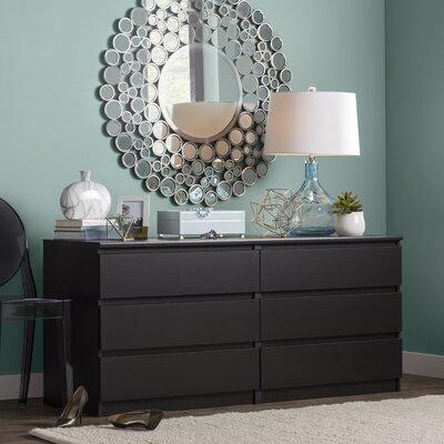 Zipcode Design Kepner 6 Drawer Dresser & Reviews | Wayfair