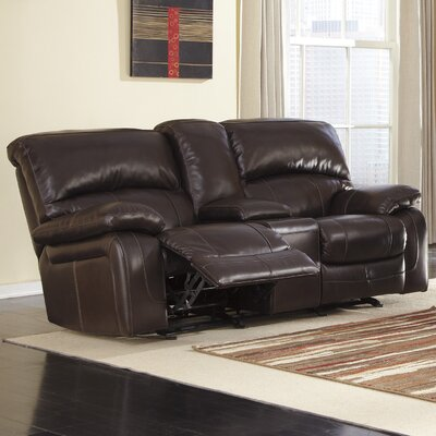 Signature Design by Ashley Dormont Glider Reclining Loveseat
