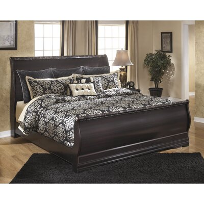 Signature Design by Ashley Esmarelda Sleigh Bed