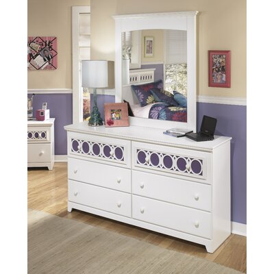 Signature Design by Ashley Zayley 6 Drawer Double Dresser