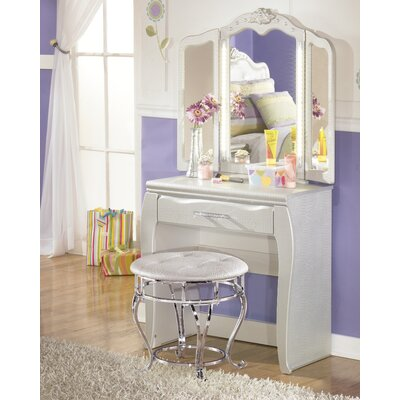 Signature Design by Ashley Zarollina Vanity Set with Mirror