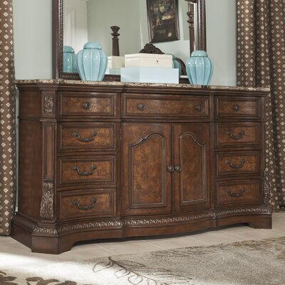 Signature Design by Ashley Ledelle 9 Drawer Combo Dresser