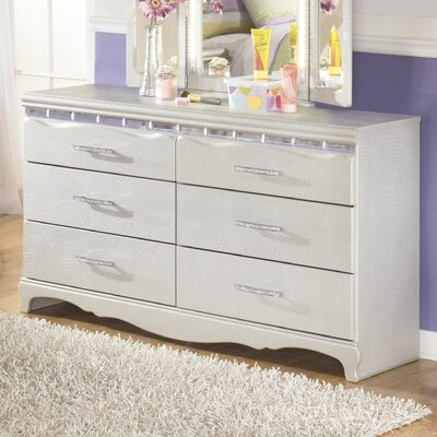Signature Design by Ashley Zarollina 6 Drawer Double Dresser