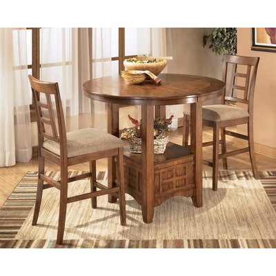 Loon Peak San Luis Counter Height Extendable Dining Table
