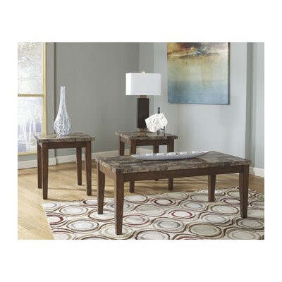 Signature Design by Ashley Cosby 3 Piece Coffee Table Set