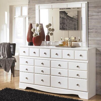 Beachcrest Home Carrabassett 6 Drawer Dresser wi..