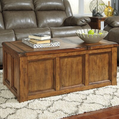 Loon Peak Clayton Coffee Table with Lift Top