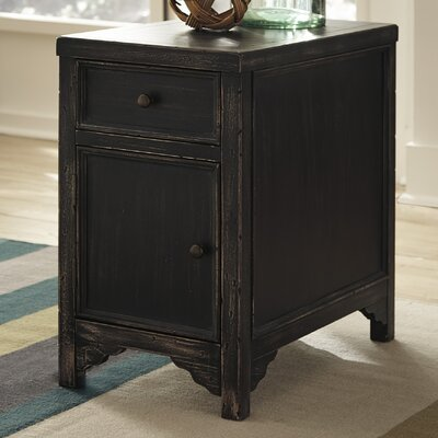Beachcrest Home Calvin Chairside Table