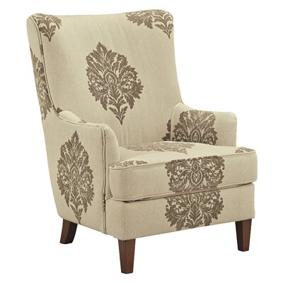 Darby Home Co Tallmadge Damask Arm Chair