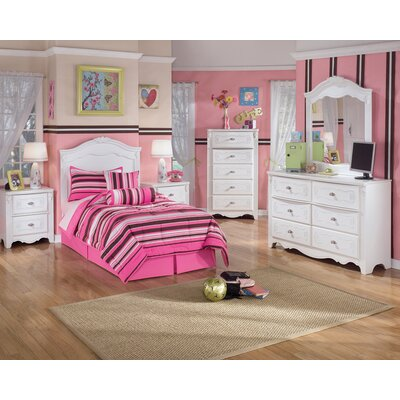 Signature Design by Ashley Lydia Panel Customizable Bedroom Set