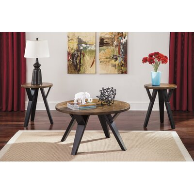 Signature Design by Ashley Ingel 3 Piece Coffee Table Set