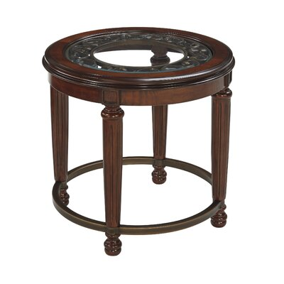 Charlton Home Portland End Table