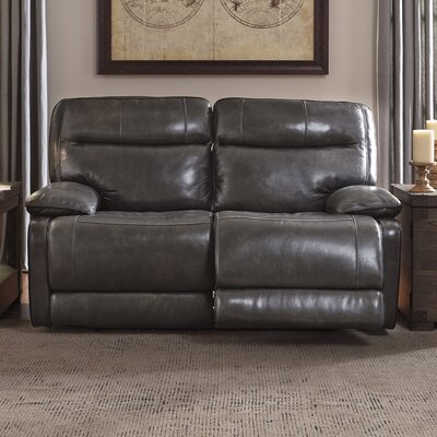 Signature Design by Ashley Leather Reclining Lov..