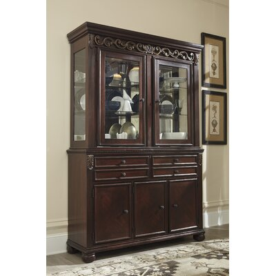 Charlton Home Portland China Cabinet