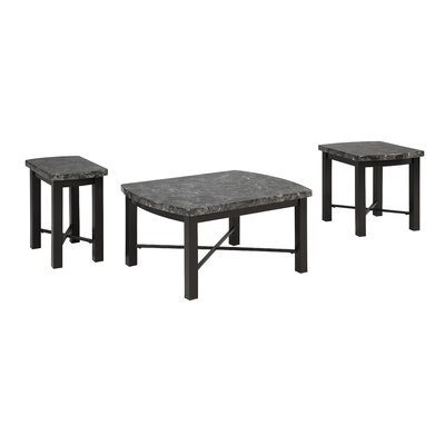 Red Barrel Studio Shelbyville 3 Piece Coffee Table Set