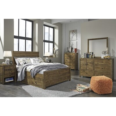 Loon Peak Avsallar Storage Panel Customizable Bedroom Set
