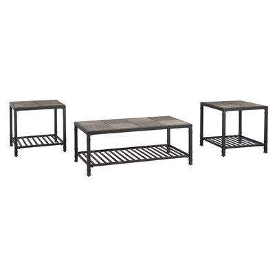 World Menagerie Frederiksberg 3 Piece Coffee Table Set