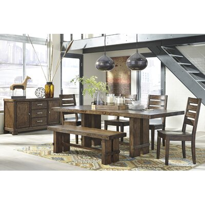 Loon Peak Belen Extendable Dining Table