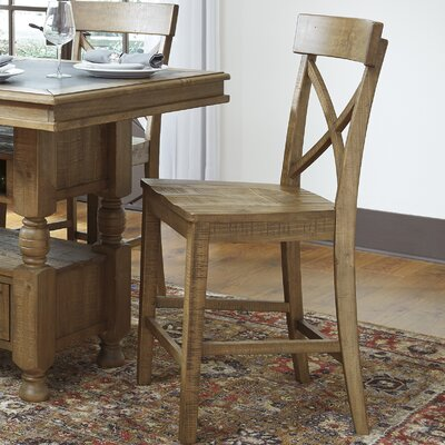 Loon Peak Crofford Bar Stool (Set of 2)