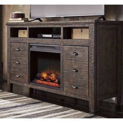 Loon Peak Armandale TV Stand with Electric Firep..