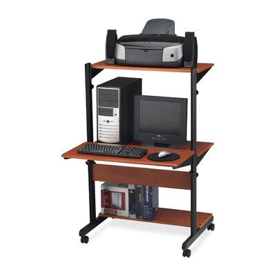Mayline Group Adjustable Computer Desk Workstation