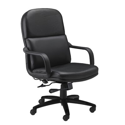 Mayline Group Mid-Back Leather Executive Chair