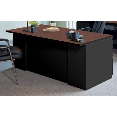 Mayline Group Executive Desk with 2 Pe..