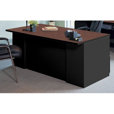 Mayline Group Executive Desk with 2 Pedestal