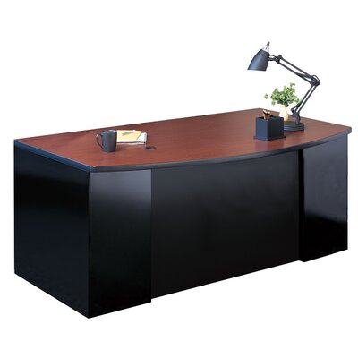 Mayline Group Executive Desk with 1 Pedes..