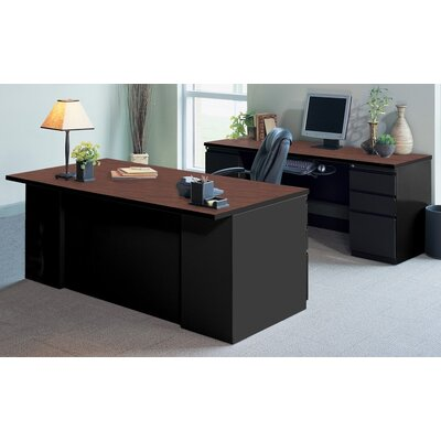Mayline Group CSII 2-Piece Standard Desk Office Suite