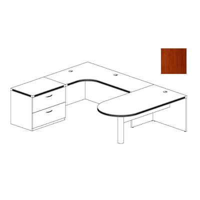 Mayline Group Aberdeen Series U Shaped Executive Desk