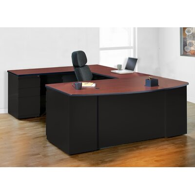 Mayline Group CSII U-Shape Exec/Comp Desk