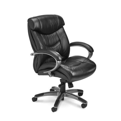 Mayline Group Series 200 High-Back Leather Executive Chair