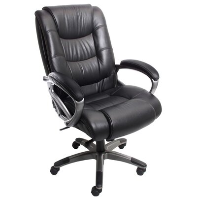 Mayline Group Series 500 High-Back Leather Executive Chair Image