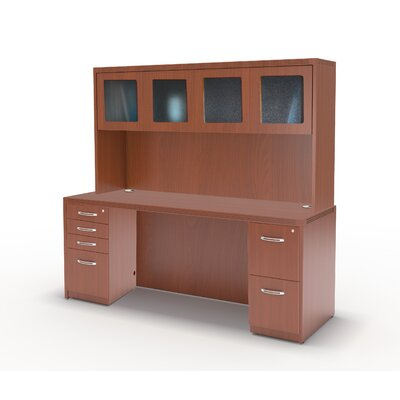 Mayline Group Aberneen Series Exec.Comp Desk with Hutch