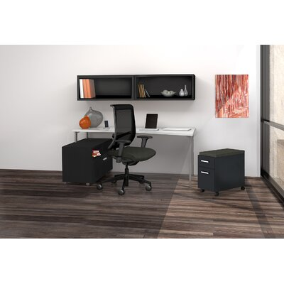 Mayline Group e5 Quickship Typical 14 Desk