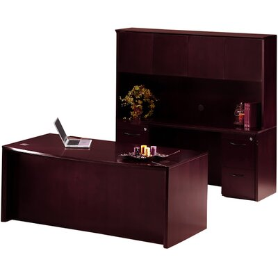 Mayline Group Corsica Series 3-Piece Standard Desk Office Suite